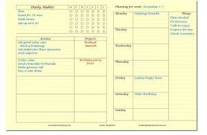 best weekly planner